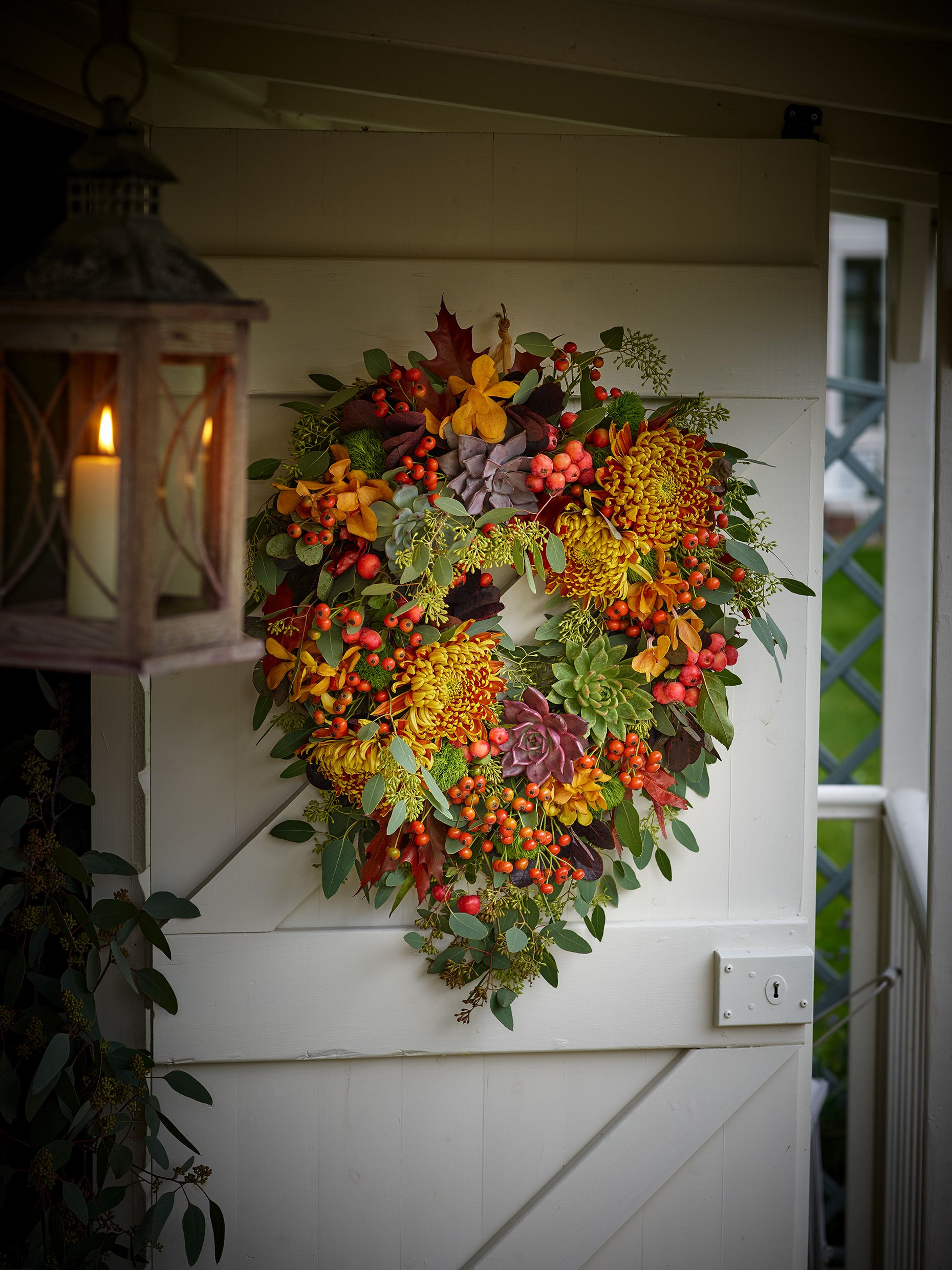 Colour Trends for Autumn Flower Bouquets Fall flowers