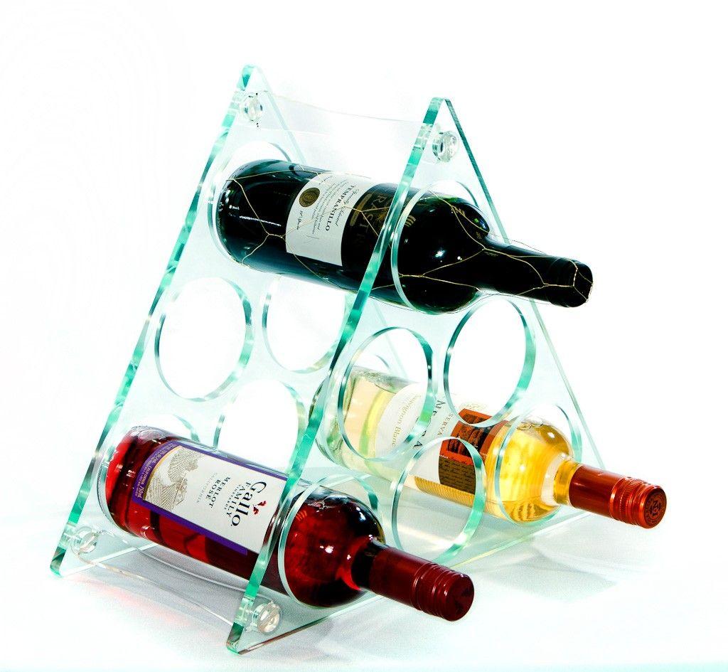 Acrylic Wine Racks