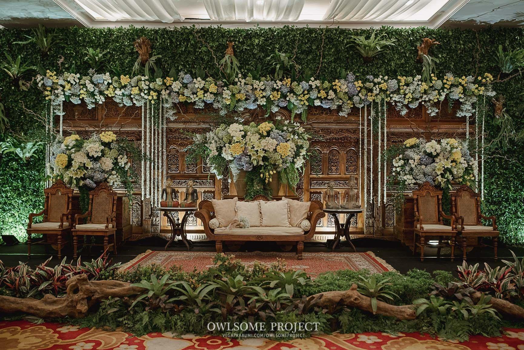 Pernikahan Dengan Konsep Jawa Rustic Di Balai Kartini Owlsome 19 Of 32 Latar Belakang Pernikahan Dekorasi Pernikahan Tradisional Tempat Pernikahan