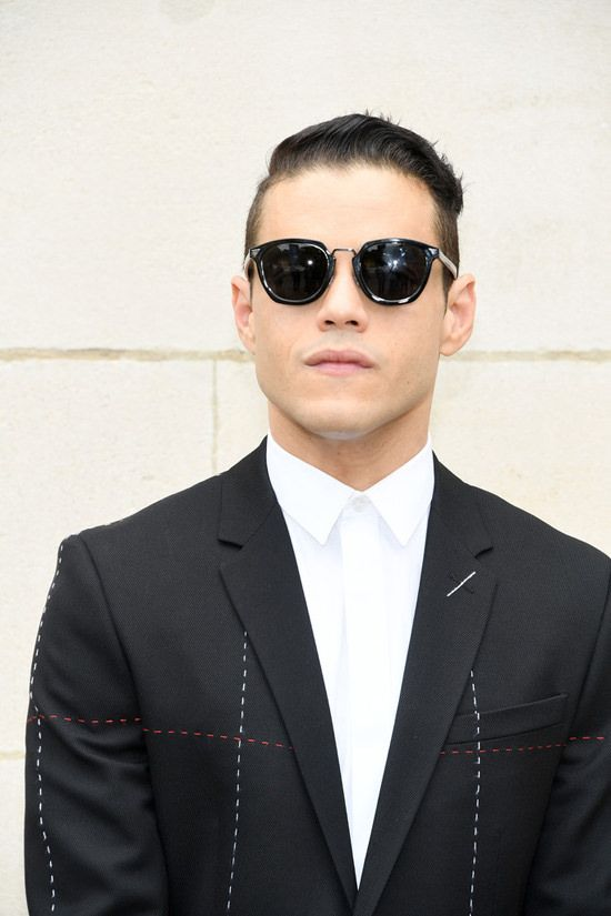 Rami Malek at the Dior Homme Spring 2018 Show is PERFECTION | Tom + Lorenzo