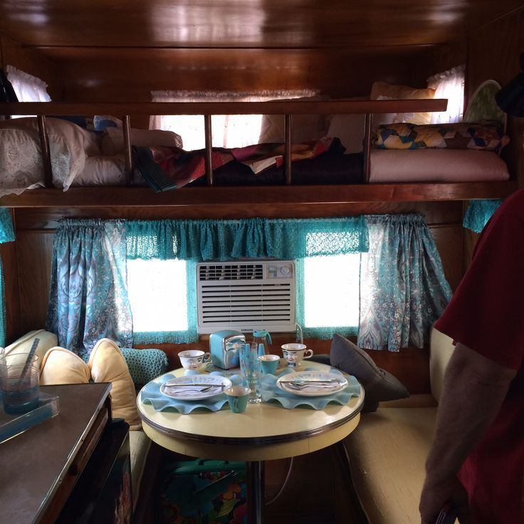 Interiors Of Vintage Campers Yahoo Image Search Results