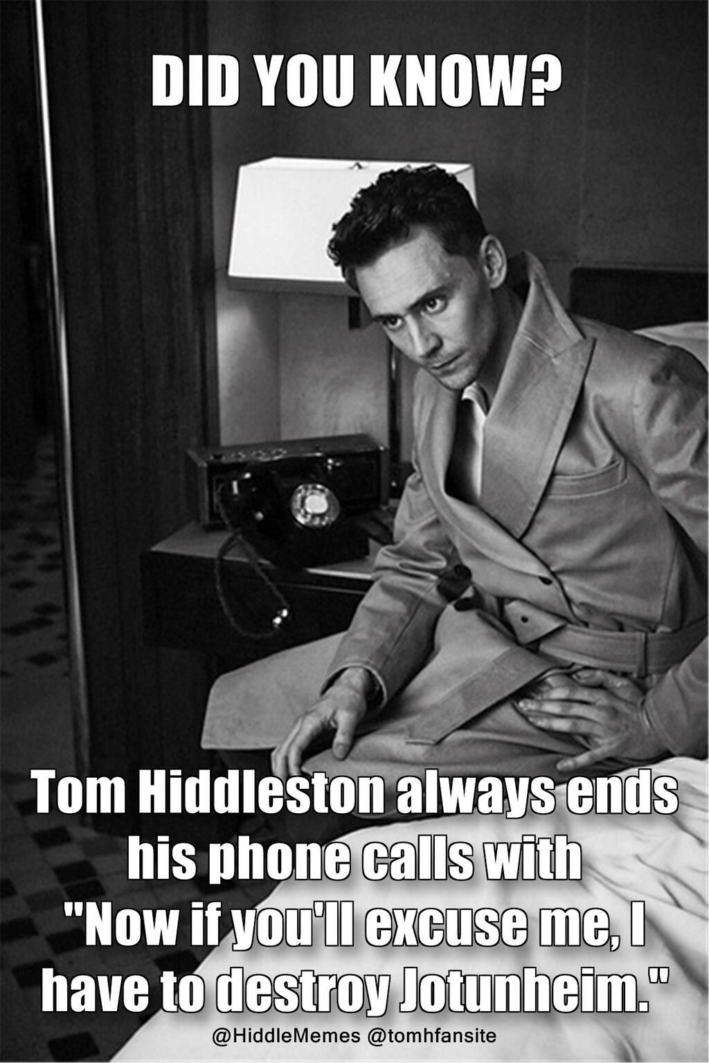 Lol Don T Know If This Is True Or Not But It Would Be Amazing If It Was Tom Hiddleston Toms Tom Hiddleston Loki