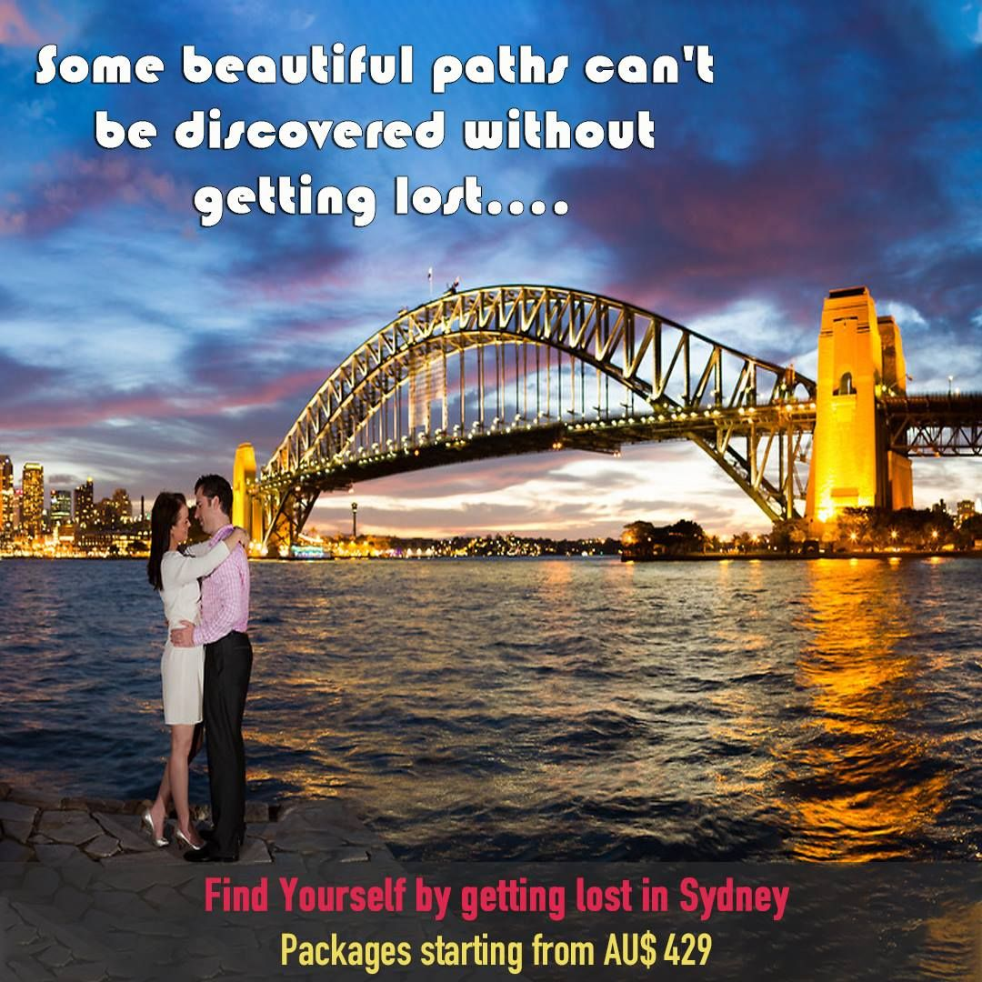 Find yourself by getting lost in the beauty of Sydney.
