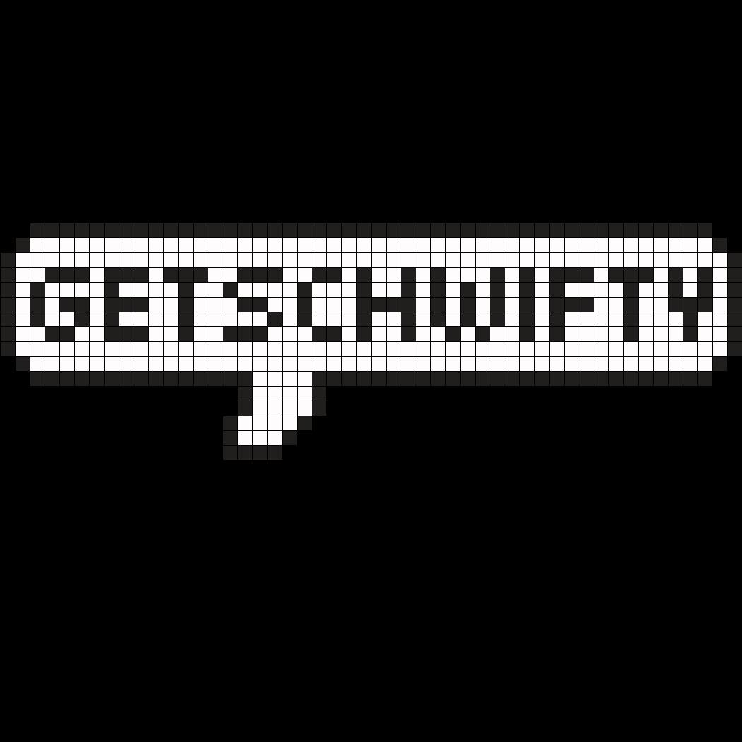 Get_Schwifty_RickandMorty_Perler.png (1050×1050) | mario correa ...
