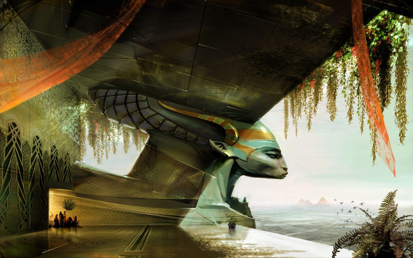 Egypt Warrior Illustration Anubis Pyramid Fantasy Art: Egypt, Egypt, Fantasy, Pyramids, Sci-Fi