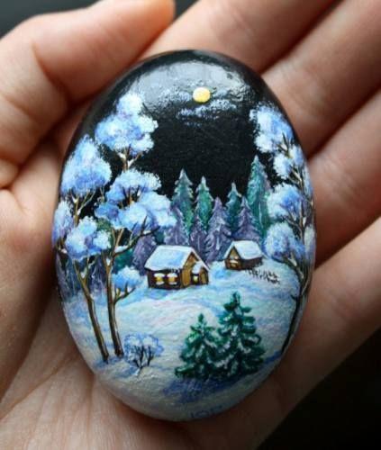 Tas Boyama Sanati Nasil Yapilir Pet Rocks Hand Painted Rocks