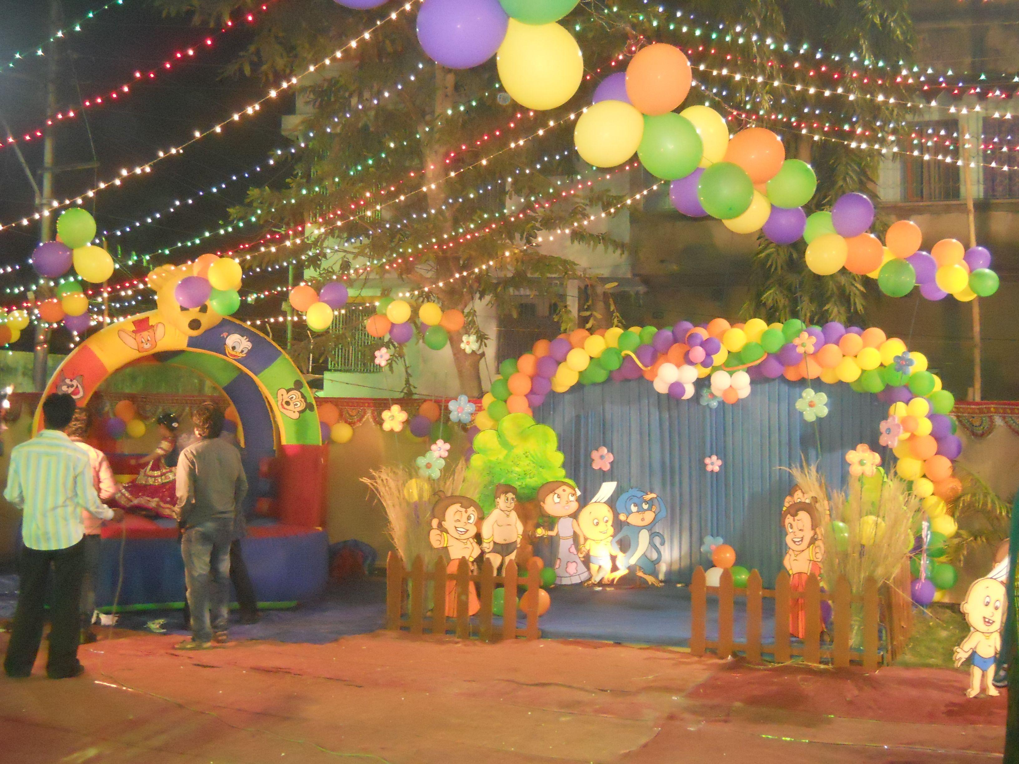 Chhota Bheem Theme 8 Stars Most Beautiful Birthday Party Themes