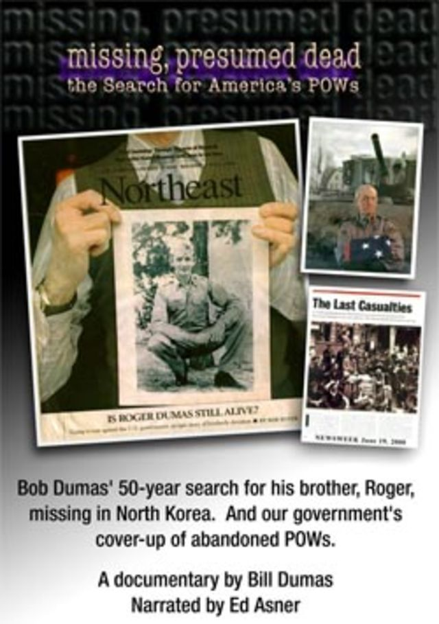 Missing, Presumed Dead: The Search for America's POWs; 1:11:13; Well worth your time.