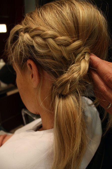 Chignon avec tresse : comment réussir cette coiffure | Coiffure facile, Coiffure, Tuto coiffure ...