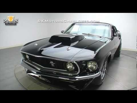 132894 1969 Ford Mustang Youtube With Images Ford Mustang Mustang Mustang Boss