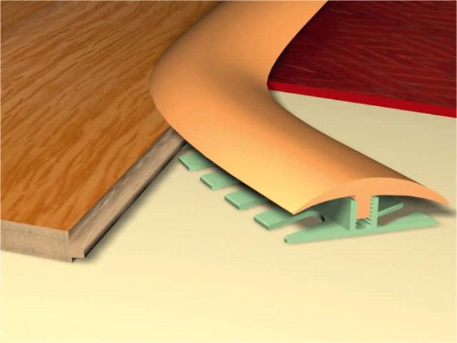 Wood To Tile Floor Transition Pics Curved Transition Strip Tile