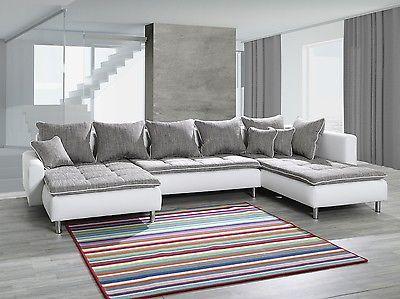 Couchgarnitur Ecksofa Eckcouch Sofagarnitur Sofa Volcano Wohnlandschaft Couch Sectional Couch Furniture