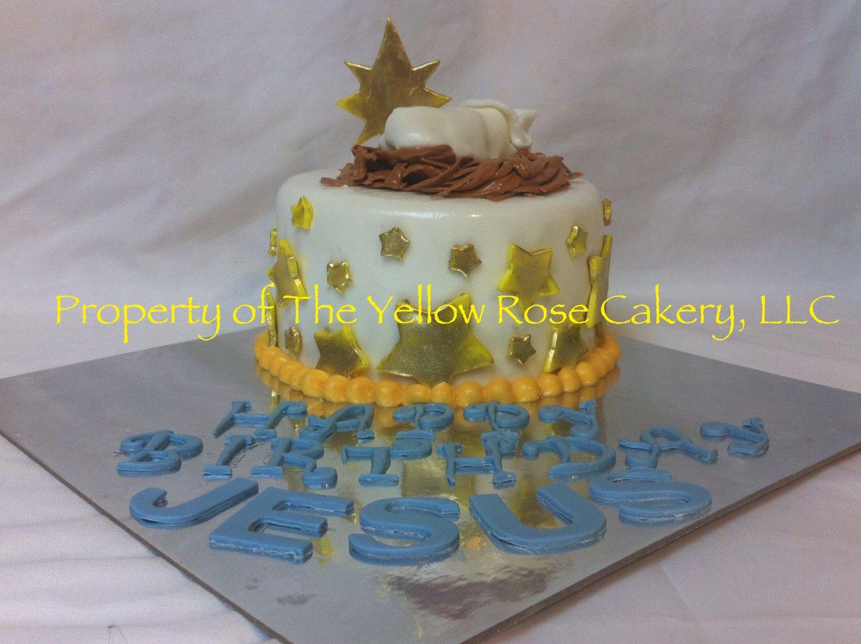 Baby Jesus' Birthday Cake Cake, Birthday cake, Custom cakes