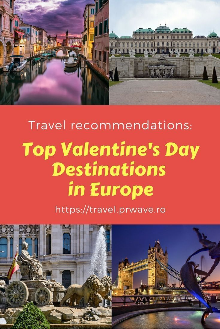 top valentine's day destinations in europe, places to go for