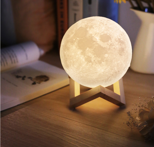 3d Usb Led Magical Moon Night Light Moonlight Table Desk Moon Lamp Home Decor Touch Lamp Night Light Lamp Led Night Light