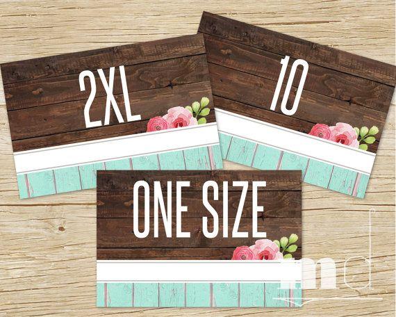 LuLaRoe Sizing Cards, LuLaRoe Size Card 4x6, best llr lula consultant rustic wood shabby chic vintage cards, size tags for lularoe clothing by MulliganDesign via Etsy