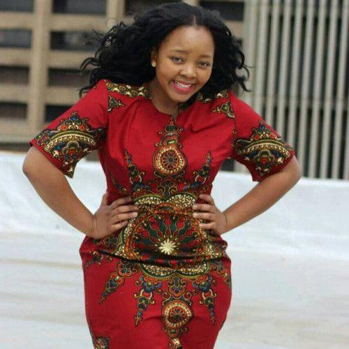 Dashiki Kitenge Mothers Fashion Dress