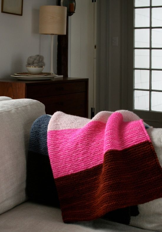 Whits Knits Super Easy Lap Blanket Crafting Style Blankets