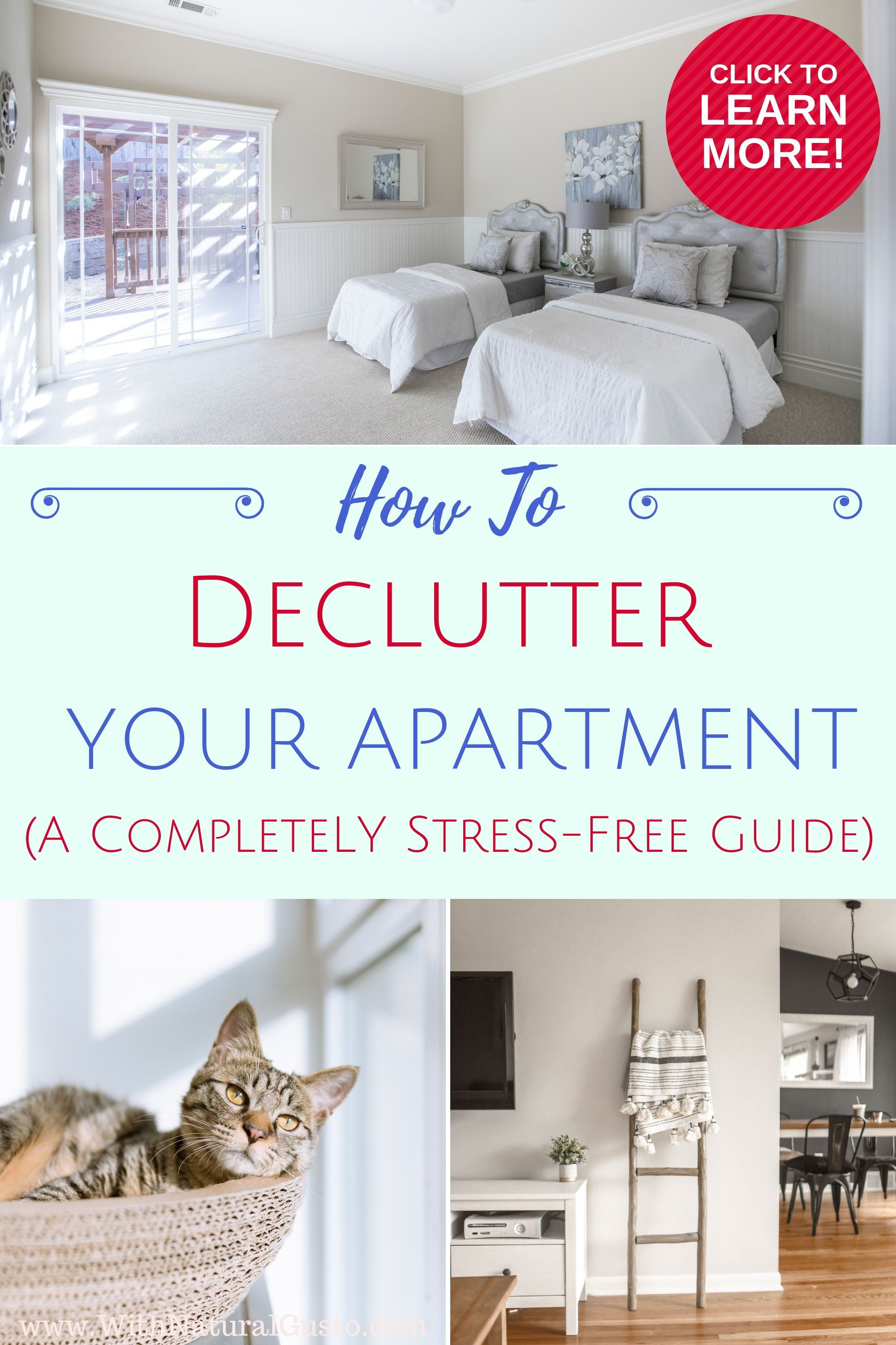 How To Declutter Your Apartment With Ease | simplify ...
