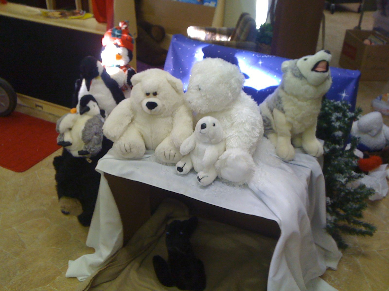 Arctic Animal Theme I Used This As A Cozy Area Science