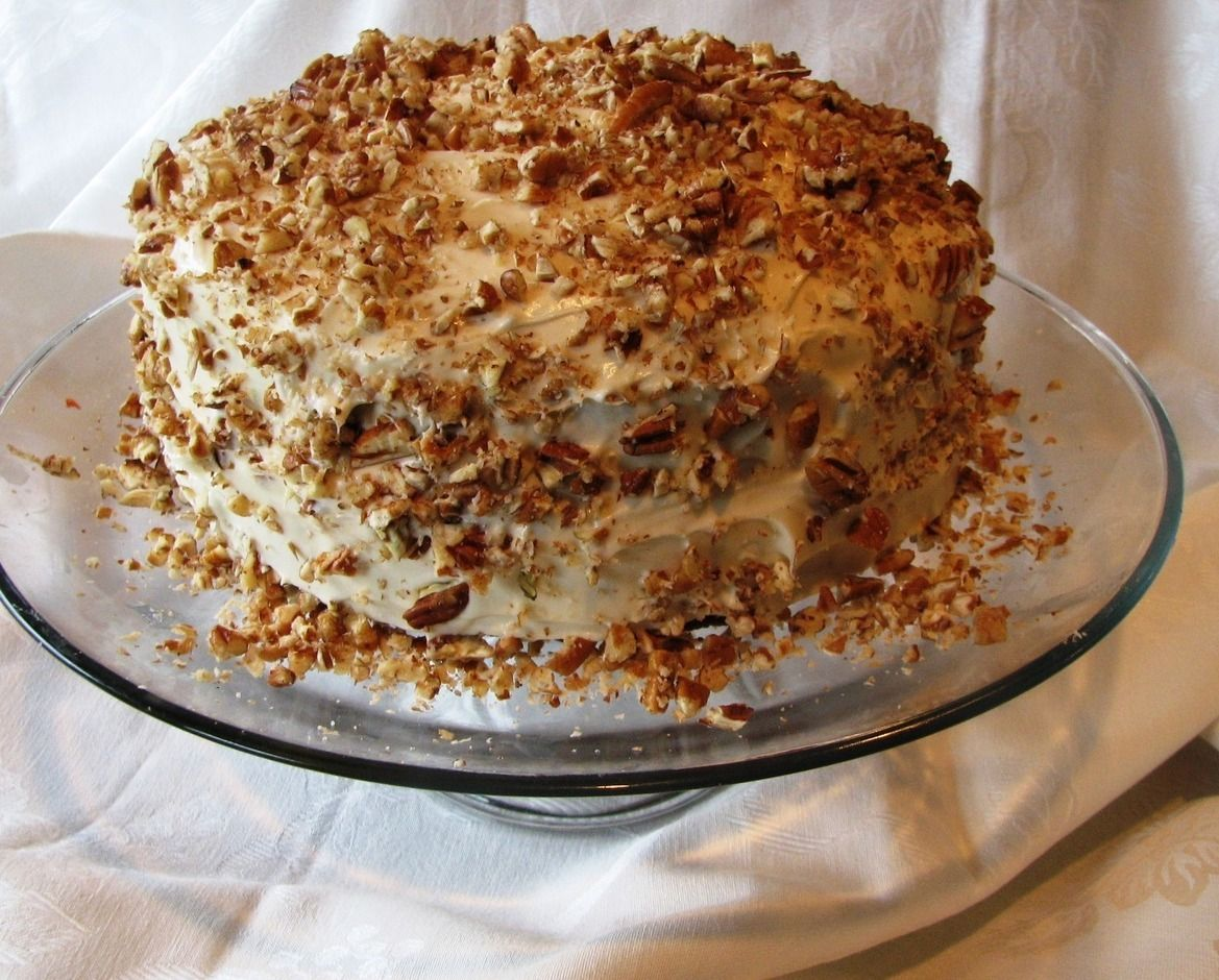 Carrot cake with cream cheese frosting easy baking