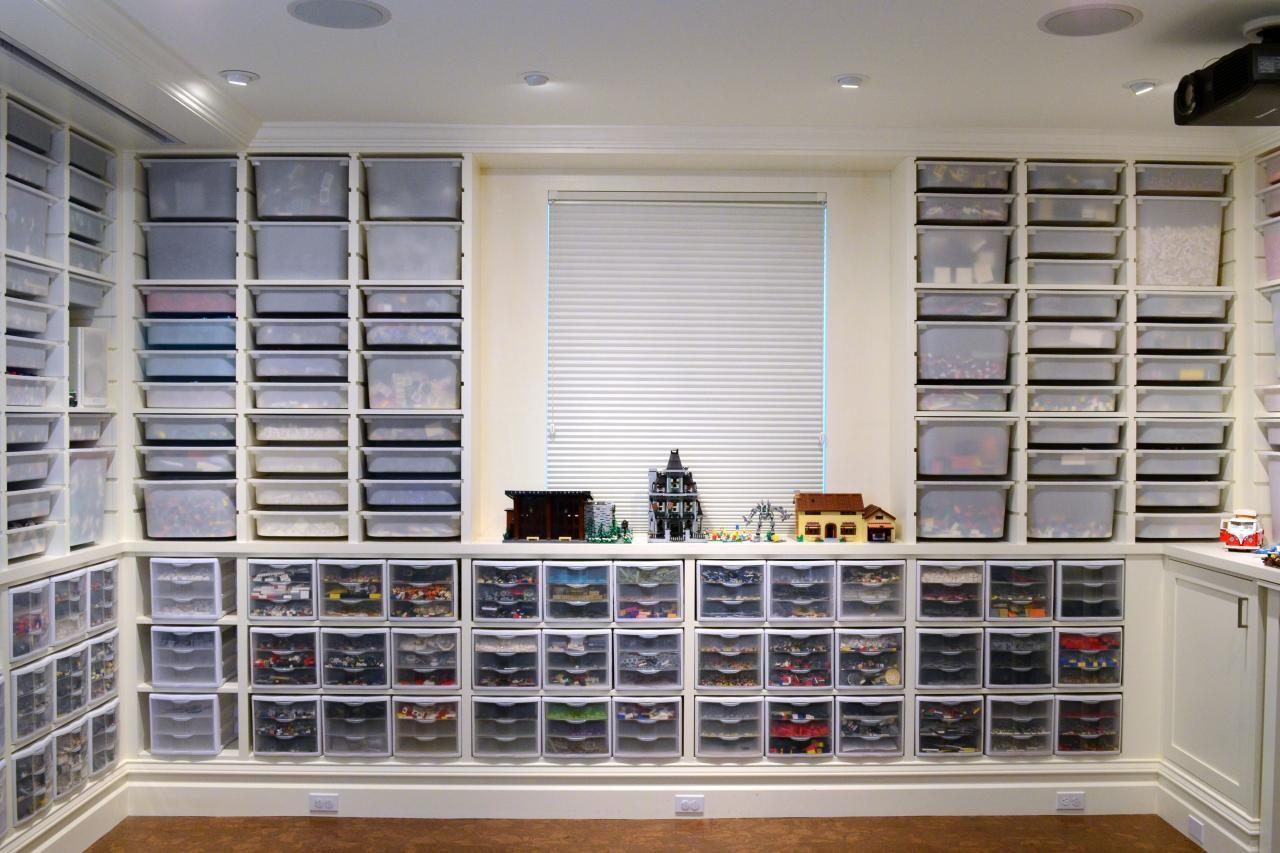 Family Room Built On Lego Lego Room Lego Storage Lego Storage Organization