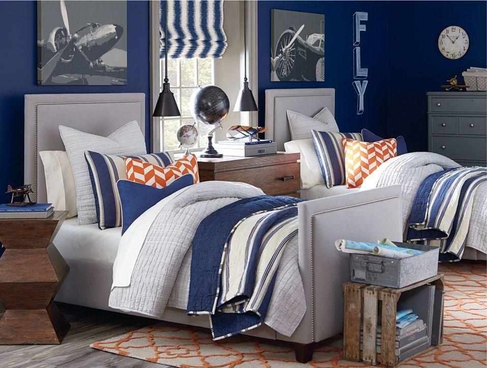Custom Upholstered Headboards custom upholstered beds and headboards | upholstered beds, lights