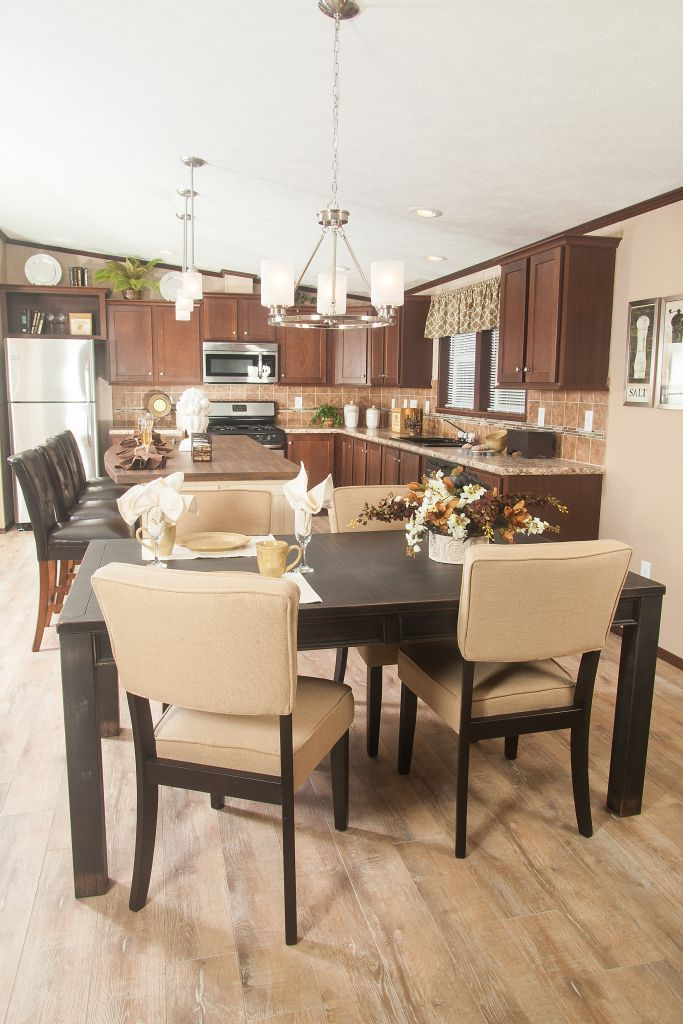 Colony homes a3209a eastland ranch kitchen shown with our evermore custom cabinetry in messina