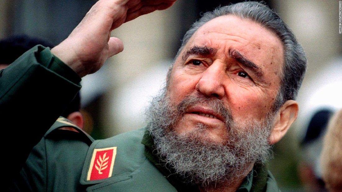 Former Cuban leader Fidel Castro dies