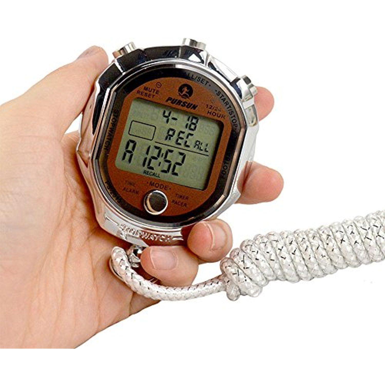 Sport Stopwatch Digital Display 1 1000 Seconds Precision Waterproof Outdoor Electronic Me Fitness Tracker Wearable Waterproof Fitness Tracker Activity Monitors