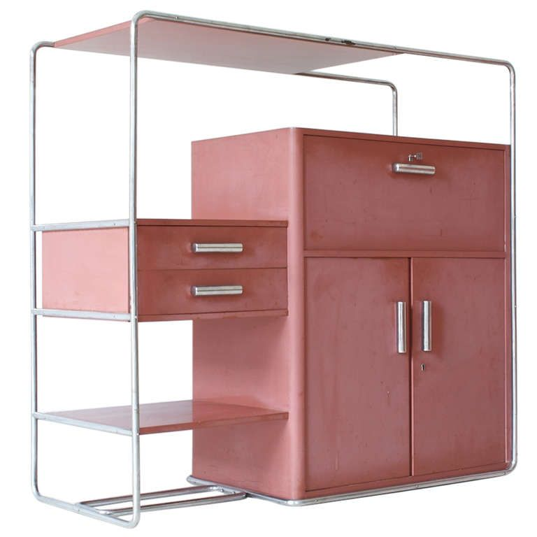 Rare Bauhaus Cabinet By Bruno Weil For Thonet 1stdibs Com Bauhaus Furniture Bauhaus Design Bauhaus