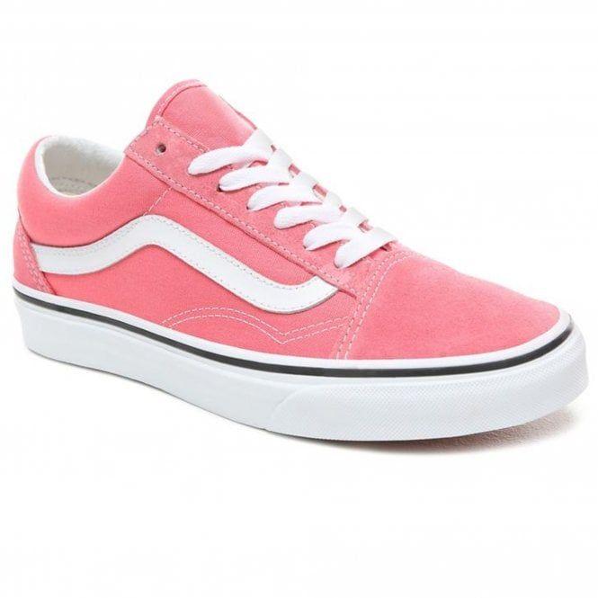 Vans Vans Old Skool Trainers   Strawberry Pink True White
