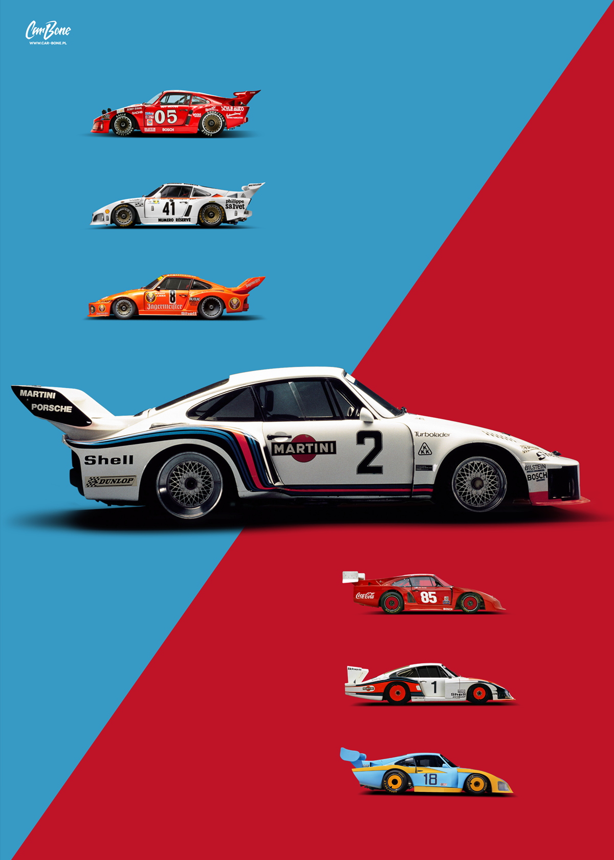 Design poster k3 - A Cm Poster With Beautiful Historical 935 Liveries