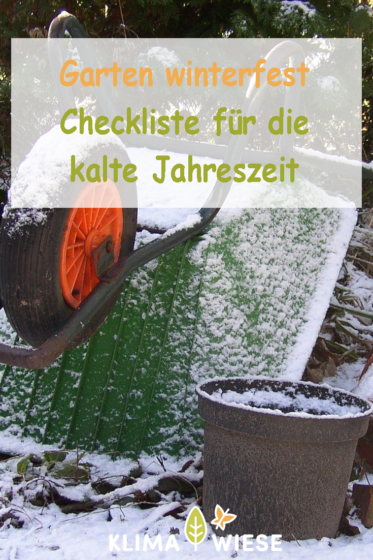 Wir zeigen dir an was du alles im Garten denken musst, wenn der Winter einkehrt. Winter | Garten | Gartenarbeit | Winterzeit | Kalt | Obstgarten | Gemüsegarten | Natur | Bäume | Schnee | Grundstück