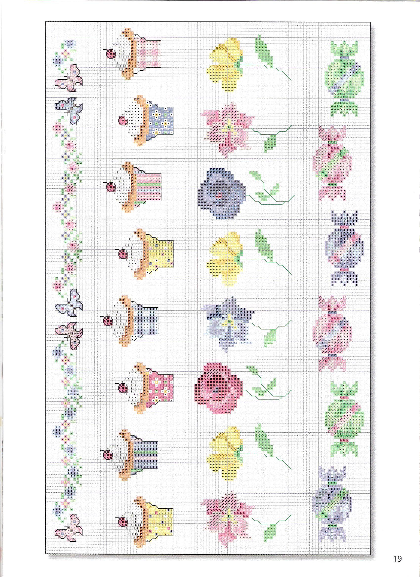 Pin de Vanegumis en Cross Stitch Food | Pinterest | Punto de cruz ...