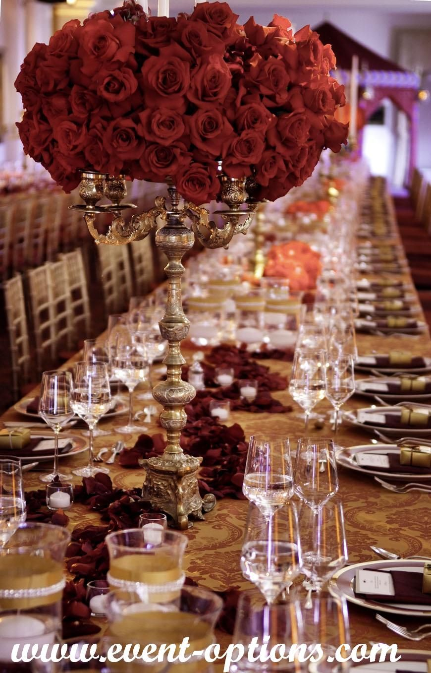 candelabras with flowers as centerpieces make for romantic and ...