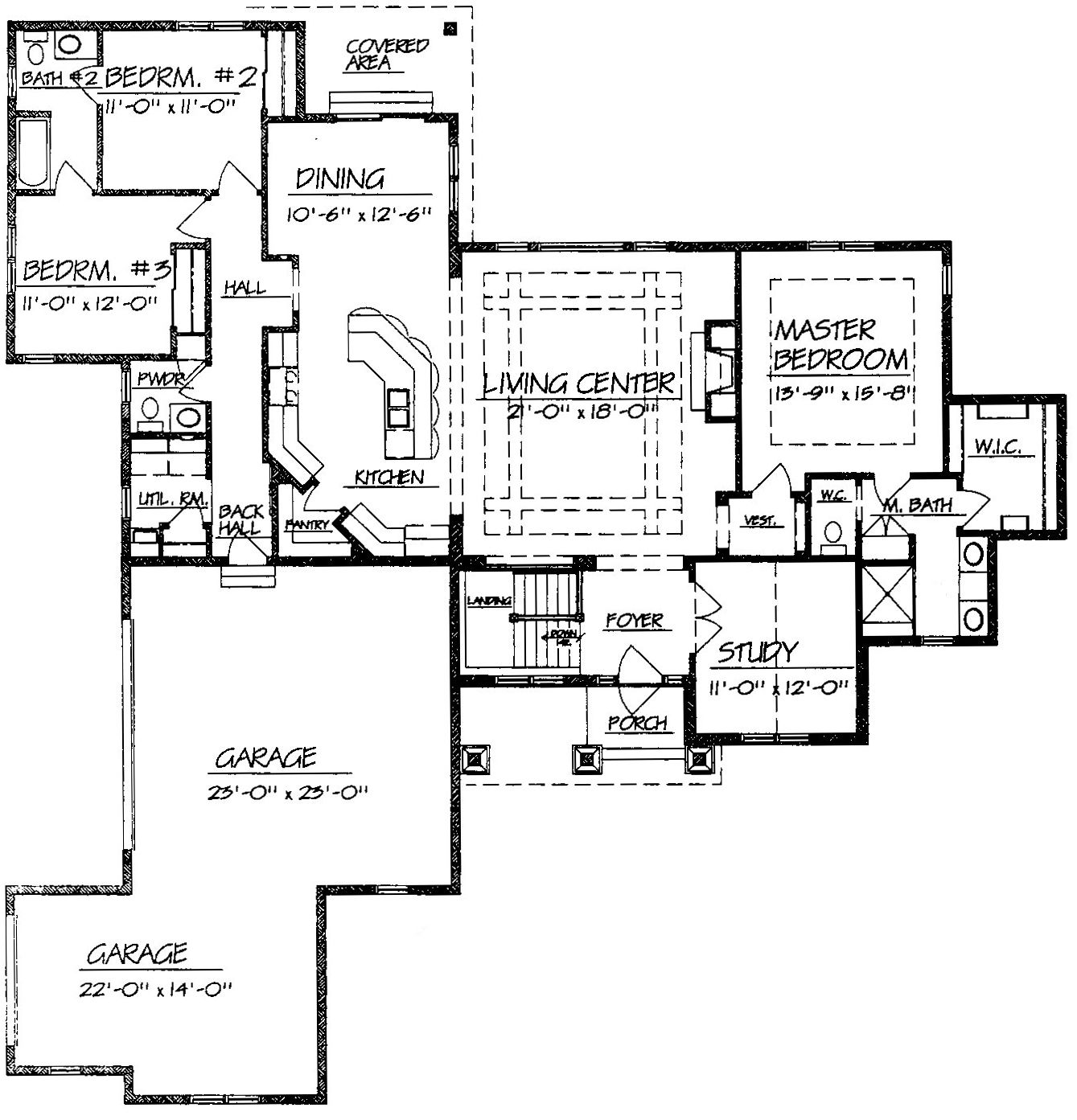 Best Images About Design In The Home On Pinterest House Plans - Ranch home design plans