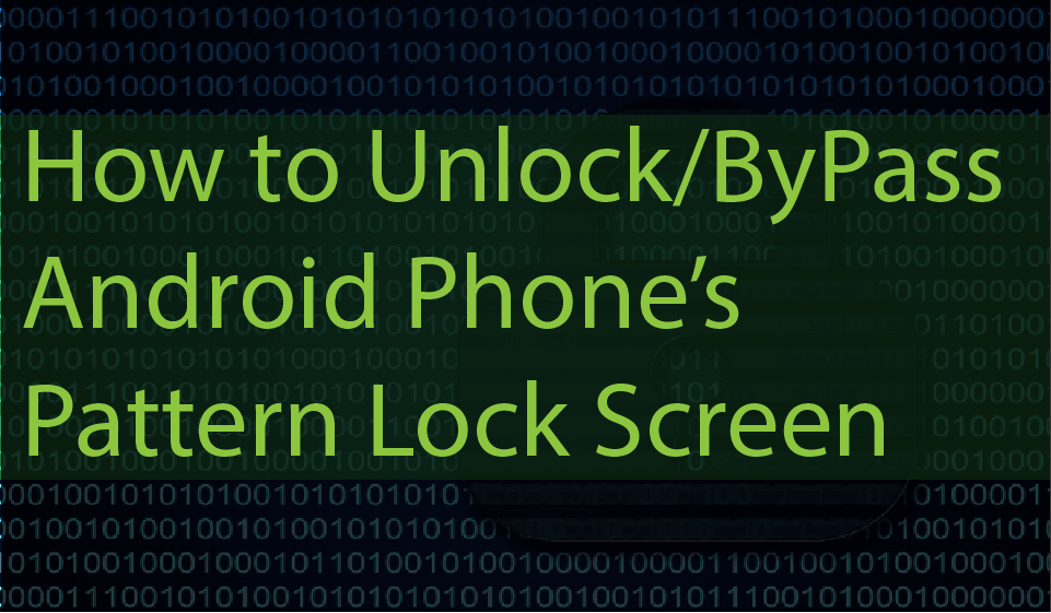 How To Hack Unlock Android Pattern Lock Pin Password In 2020 Smartphone Hacks Android Phone Hacks Unlock