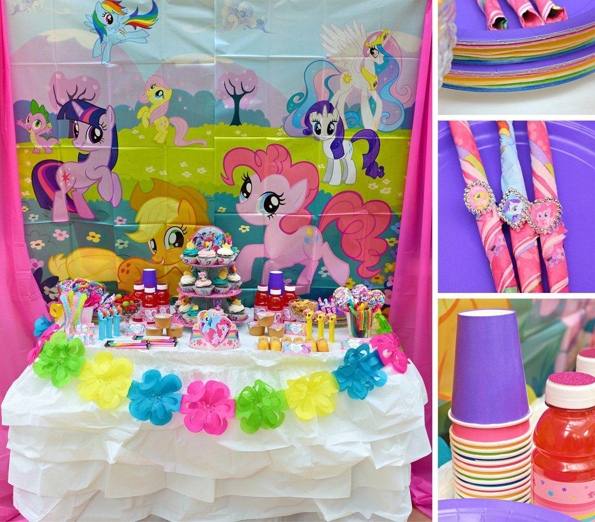 My Little Pony Decorations My Little Pony Birthday Party My