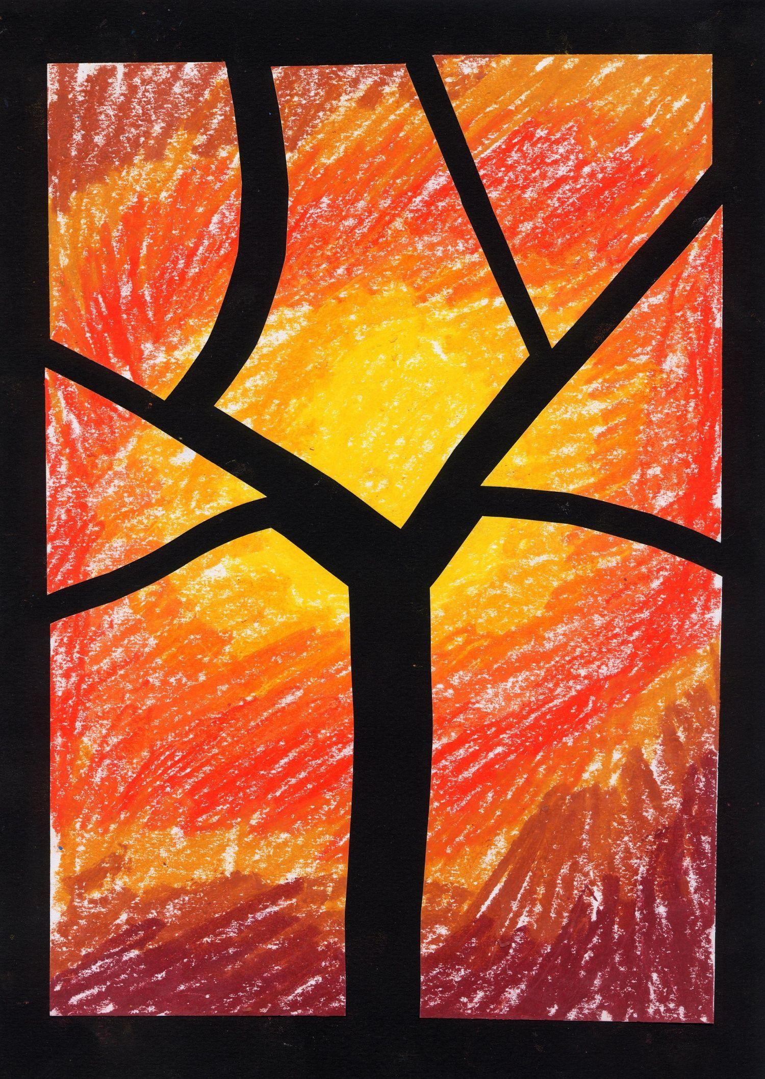 Id e arbre automne on peut l 39 adapter pour l 39 hiver - L automne et ses couleurs ...