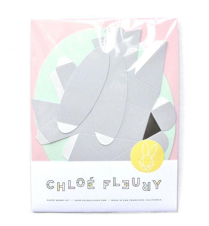 Easy Origami Rabbit | 755x700