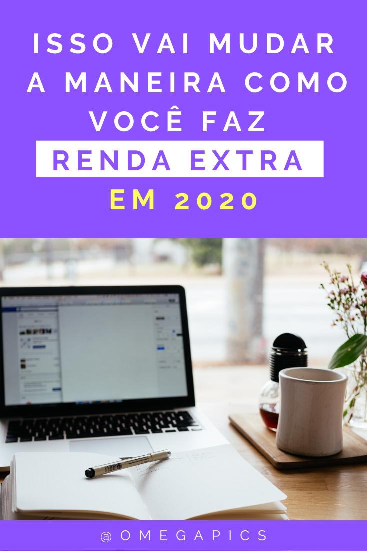 Renda Extra em 2020 Trabalhando em Casa!