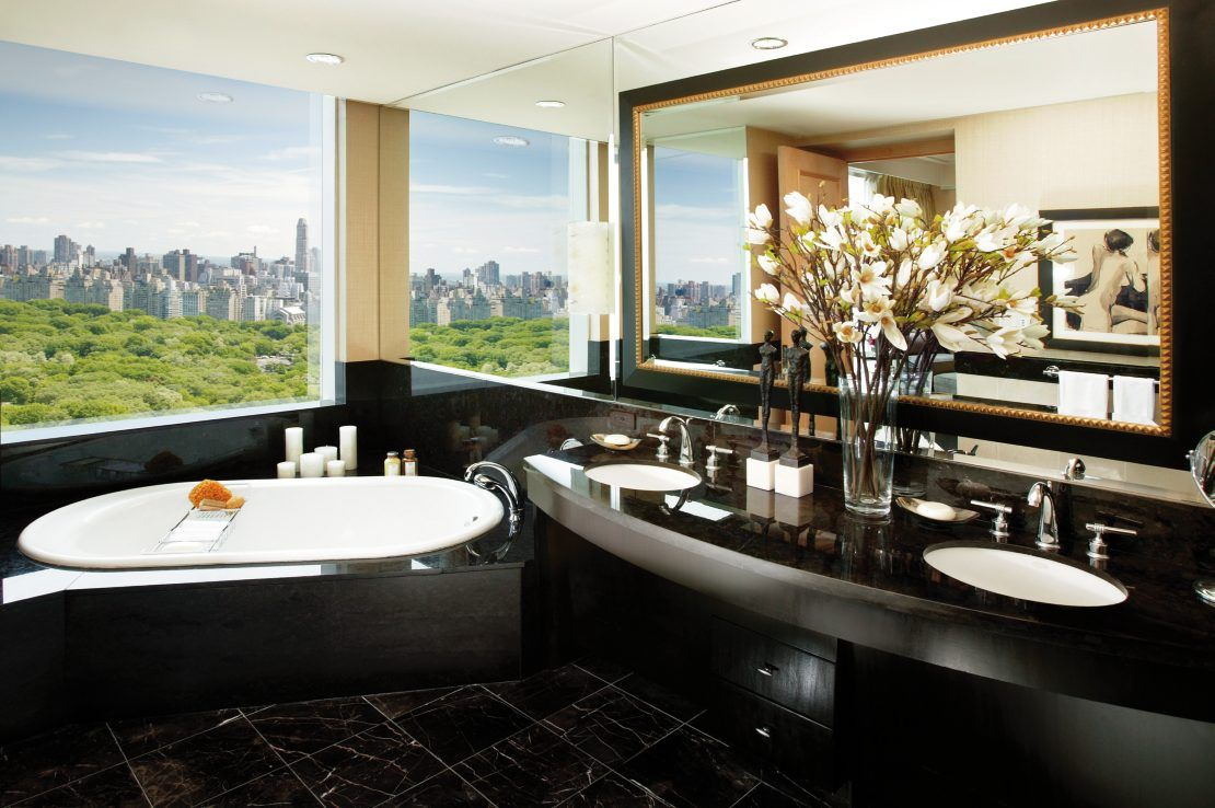 Bathroom Designs York mandarin oriental, new york | great hotel bathrooms | pinterest