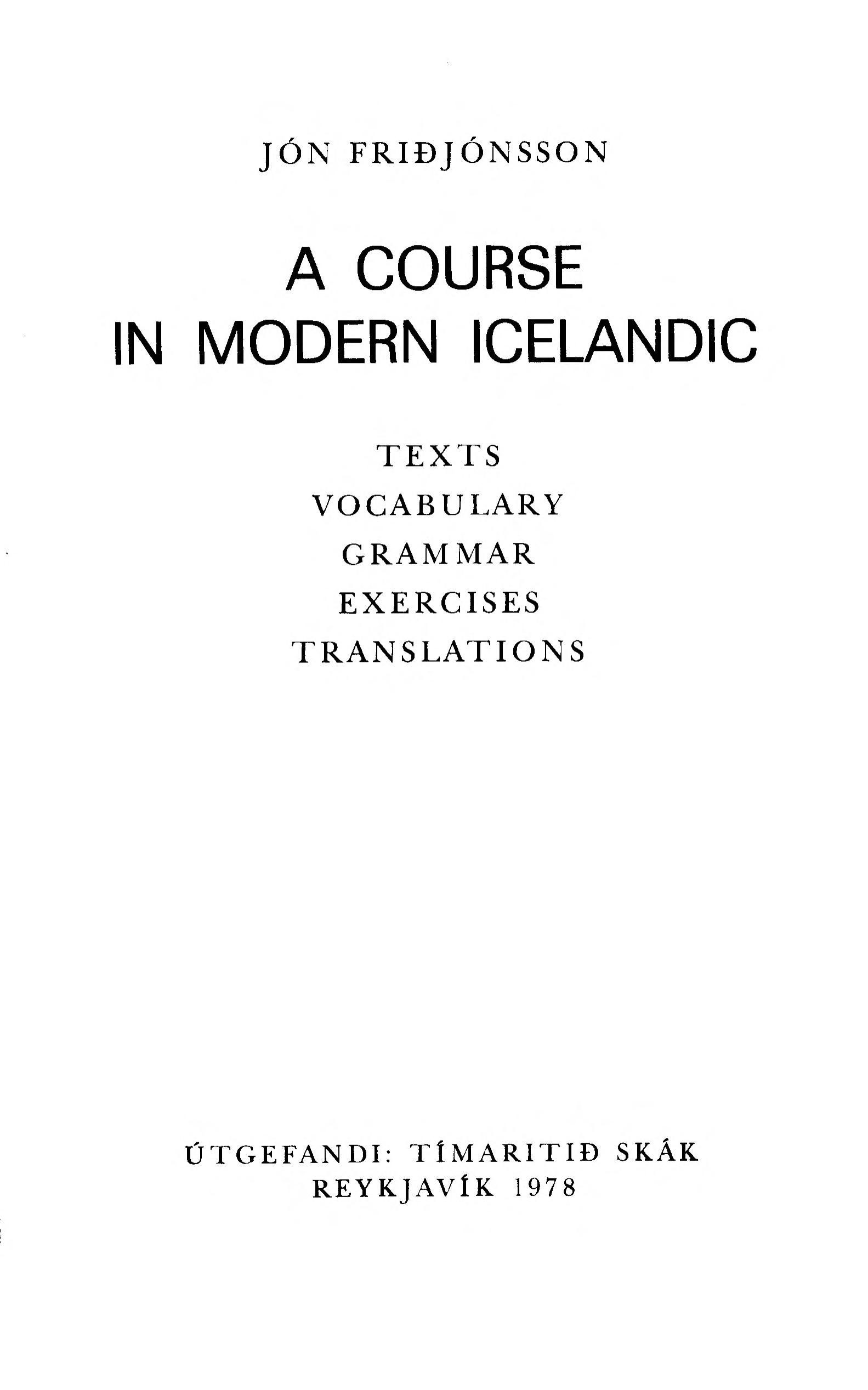 Icelandic Language Learning Pack Updated Free