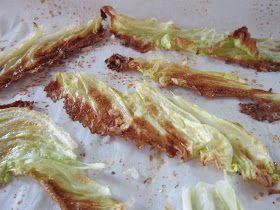 Keel Kitchen: Napa Cabbage Chips