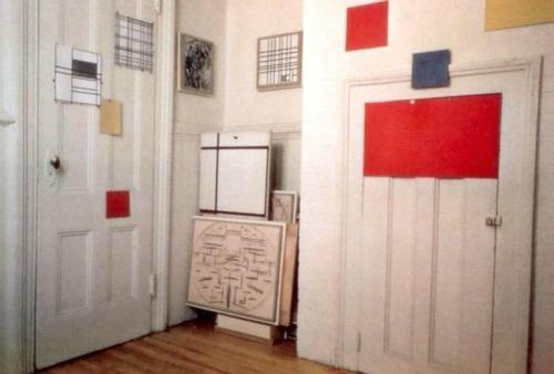 Mondrian's atelier, New York.