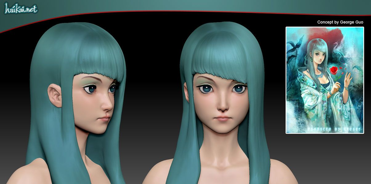 Anime Characters Zbrush : D girls only thread potentially nsfw polycount