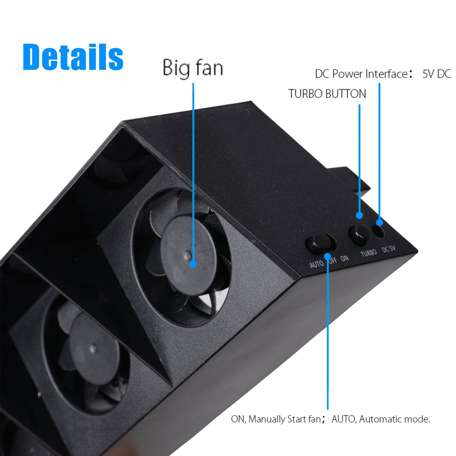 Ps4 Cooler Fan Sqdeal U S Warranty Smart Thermostat External