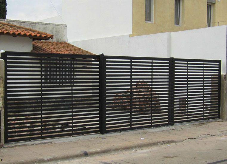 Rejas para casas modernas 761 550 reja pinterest for Reja para jardin vertical