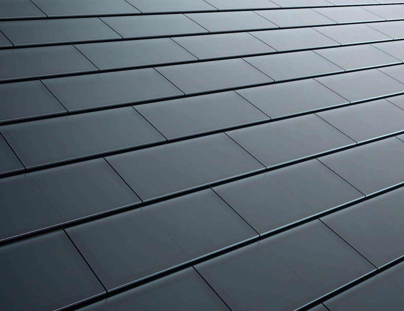 Tesla Solar Power Roof Tiles Made from quartz glass, these